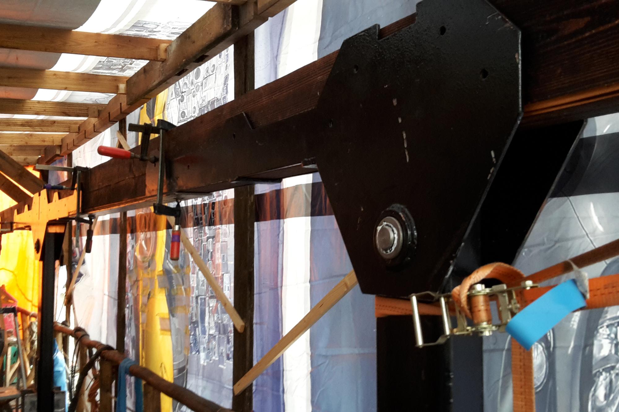 Hydraulik der Schaluppe