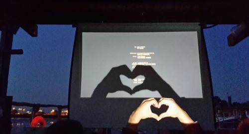 Kino auf dem Wasser